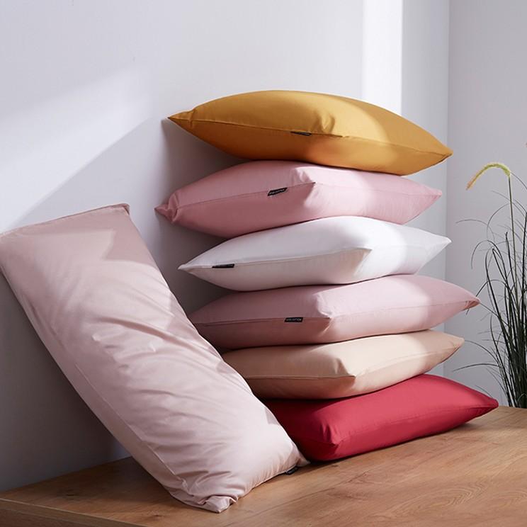 9 (1)信封式枕套 纯色全棉贡缎